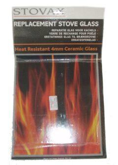 STOVAX BRUNEL 1A DOOR GLASS GL0228